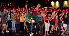 People dancing at the TD Bank Ballroom