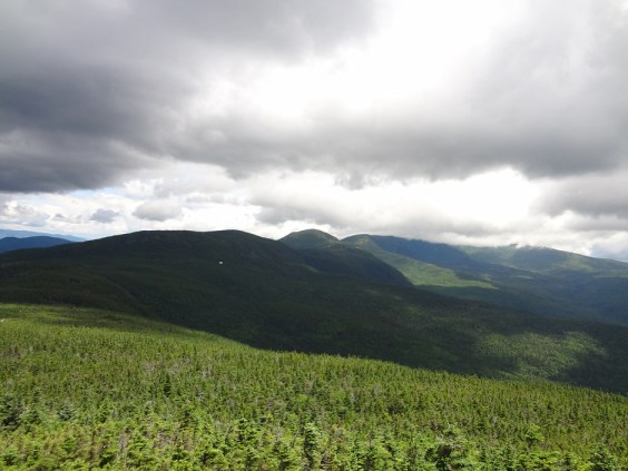 View of Presidential Range Traverse from Mt. Jackson