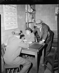 Detectives question a voting suspect