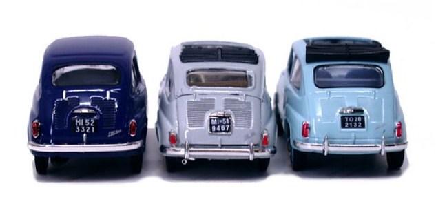 Fiat 600 rear
