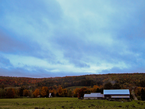 Glover, Vermont in the Fall