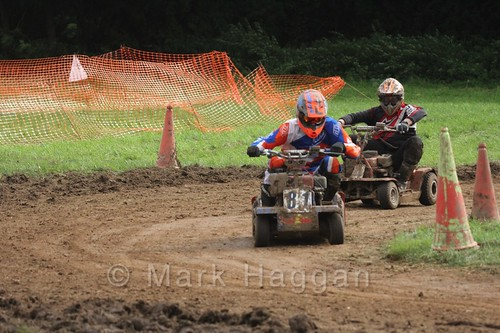 Lawnmower racing at the Shakerstone Festival 2016