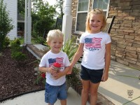 100812 Military Child Salute - Hackworth Children
