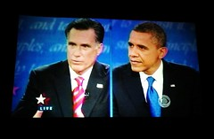 #romney & #obama big @BalboaTheatreSF #debate ...