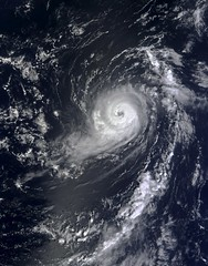 Hurricane Michael in the eastern Atlantic on S...