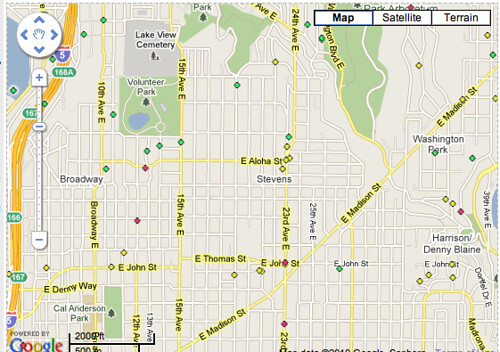 Fixing Streetlights: another use for Google Maps | CHS Capitol Hill ...