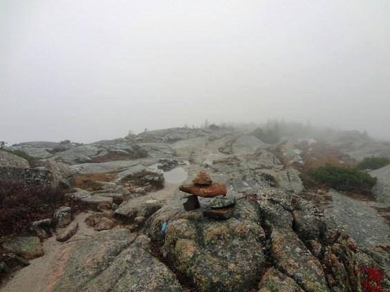 Cadillac Mountain Ridge in Acadia National Park