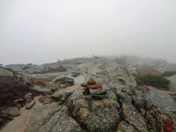 Cadillac Mountain Ridge in Acadia National Park
