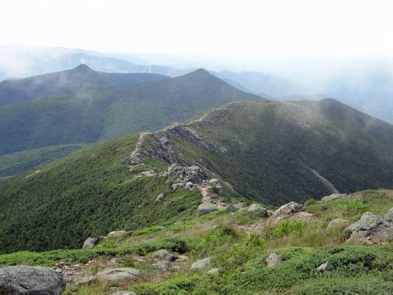 The New Hampshire Appalachian Trail hike across Franconia Ridge