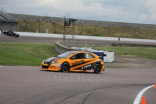 Matt Neal at Rockingham, August 2016