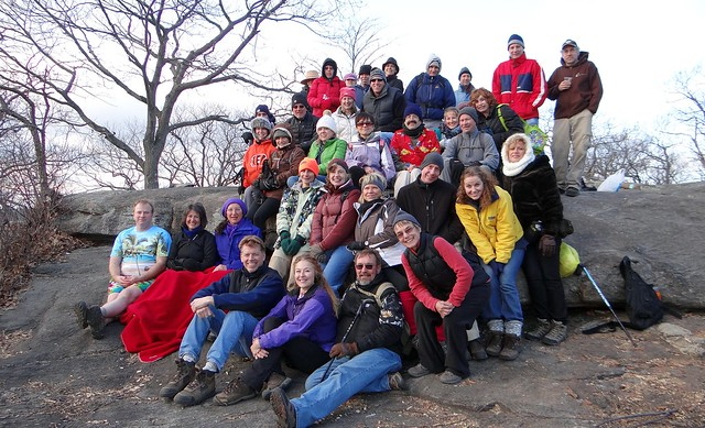 Group at Stockbridge Shelter, Thanksgiving 2012