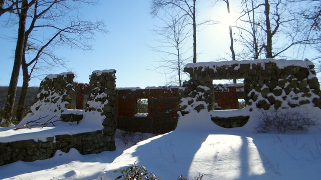 Ruins at Pine Meadow Lake