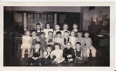 KINDERGARTEN CLASS, MT WASHINGTON, 1947