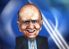 Jack Welch - Caricature