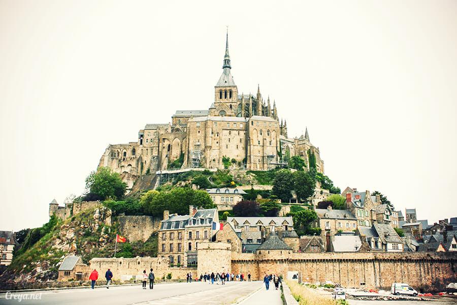 2016.09.25 | 看我的歐行腿| 法國巴黎聖米歇爾山,原來腦子有洞是這樣來的 01
