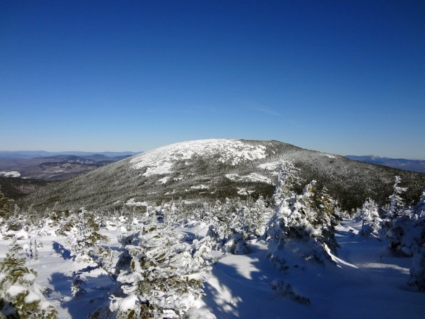 Baldpate East Peak as viewed from the West Peak on the Appalachian Trail