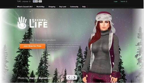 SL Splash Page December