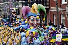 Mardi Gras Parade, New Orleans, Louisiana  (LOC)