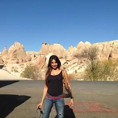 Actress Sanjjanaa holiday in Capadokiya (8)