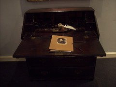 ROBERT BURNS WRITING DESK