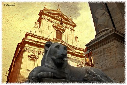 italy rome roma texture italia lion leone fontain fontana statua creativephotography fontanaacquafelice