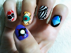 "Anime Fingernails 6 • <a style=""font-size:0.8em;"" href=""http://www.flickr.com/photos/66379360@N02/8440916770/"" target=""_blank"">View on Flickr</a>"