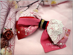 """Touka An Ribbon Hair Clip inspired by Otome Yokai Zakuro • <a style=""""font-size:0.8em;"""" href=""""http://www.flickr.com/photos/66379360@N02/8572778317/"""" target=""""_blank"""">View on Flickr</a>"""