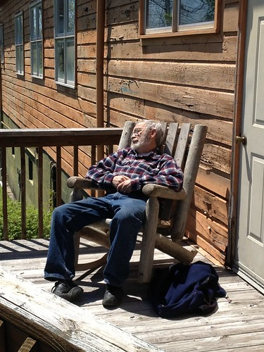 <p>Time for napping in the sun</p>