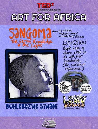 8 of 12 TEDxJohannesburg -- Buhlebezwe Siwani