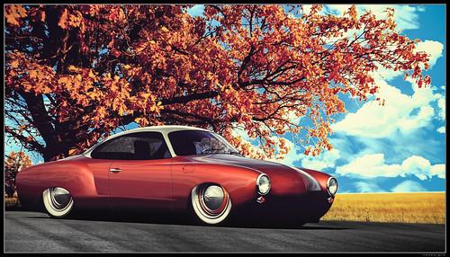cars car vw volkswagen air v dub ghia karmann ps3... (Photo: nbdesignz on Flickr)
