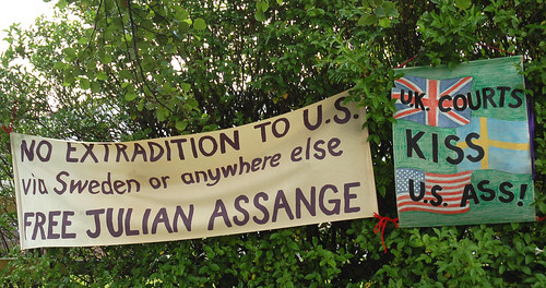 no extradition for Julian Assange