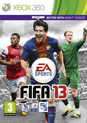 FIFA 13 | X360 UK Cover featuring Joe Hart, Al...