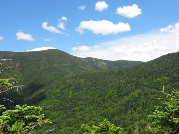 View of Galehead Hut on the NH Appalachian Trail