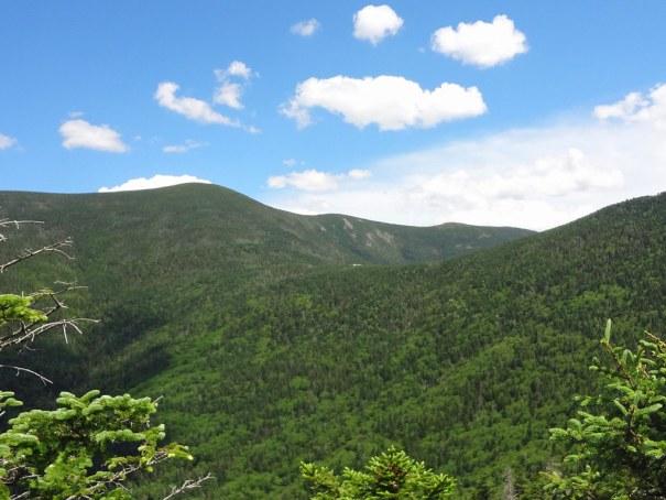 View of Galehead Hut on the NH Appalachian Trail