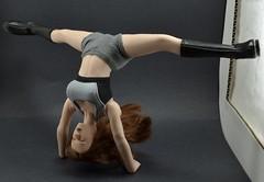 Phicen Gymnastics Handstand Split