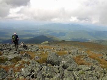 Mt. Jefferson Castle Trail Descent