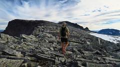 Easy hiking up on the ridge