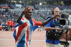 Mo Farah double vainqueur du 5000-10000m à Lon...