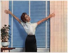 1957 enge schwarze Röcke