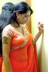 South actress Madhu Chanda Photos Set-1-Hot In Saree (3)
