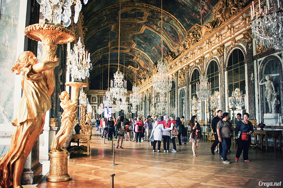 2016.08.14   看我的歐行腿  法國巴黎凡爾賽宮 12