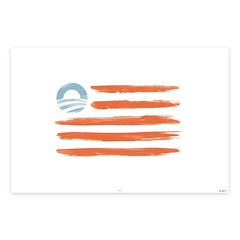 2012 Graphic: Obama Flag...