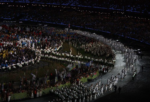 Great Britain (Team GB) - Parade of Nations - ...