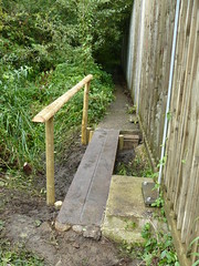 "Trap Grounds plank bridge constructed 25aug2012 • <a style=""font-size:0.8em;"" href=""http://www.flickr.com/photos/60890513@N06/7865243478/"" target=""_blank"">View on Flickr</a>"