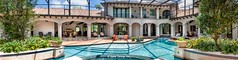 Almería pool panorama