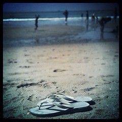 The lonely Havaianas