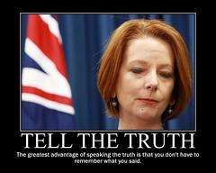 Julia Gillard Prime Minister of Australia.