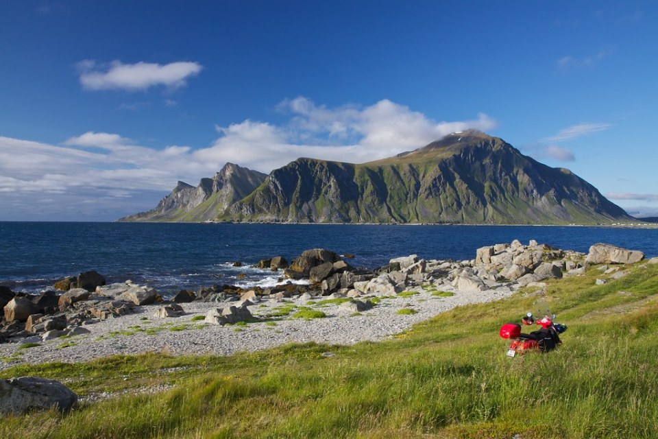 Lofoten by scooter