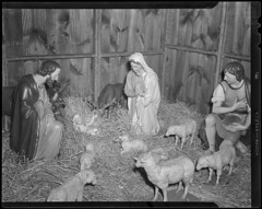 Christmas: Nativity scene