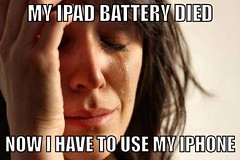 First world problem